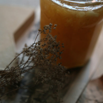 Confiture de poires aux épices