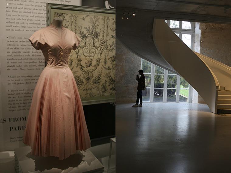 Robe Dior Rose au musée des Arts Décoratifs