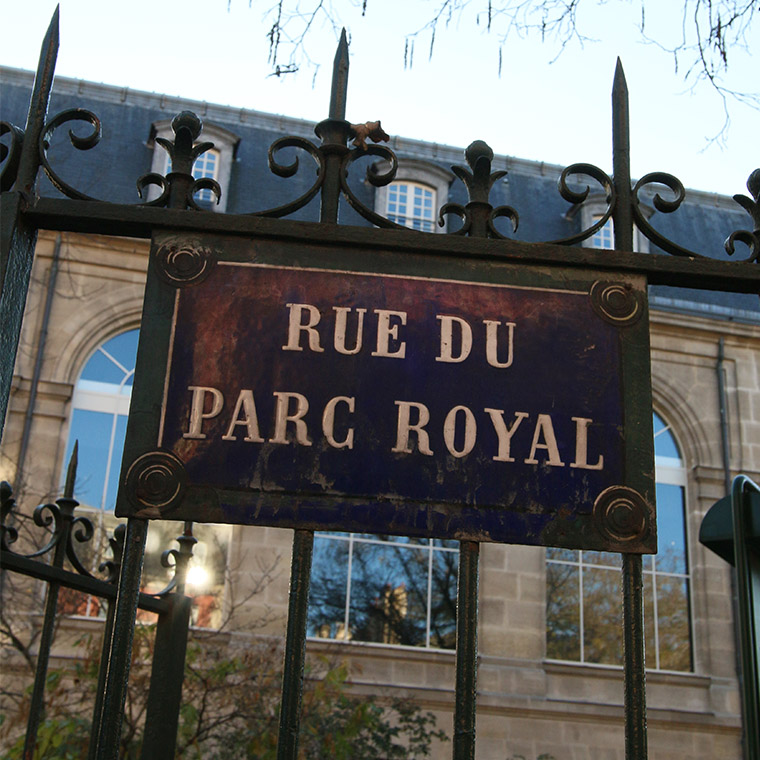 Rue du Parc Royal