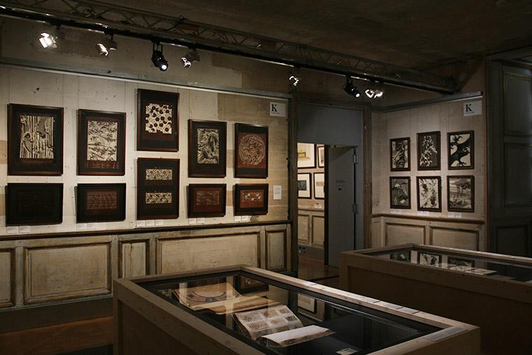 Katagami au Musée des Arts décoratifs