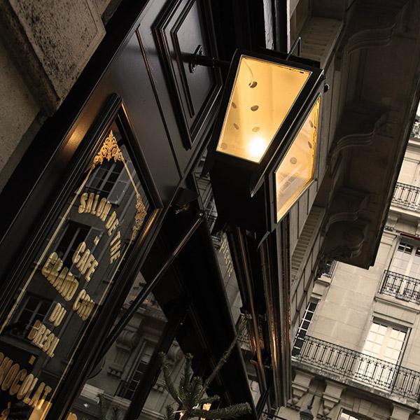 Salon de thé parisien