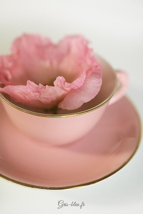 Tasse rose