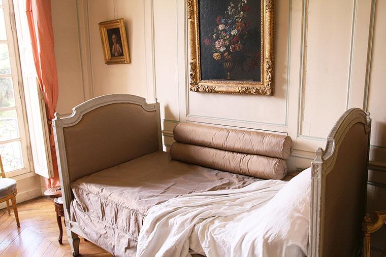 La chambre de la maîtresse de maison au musée Lambinet