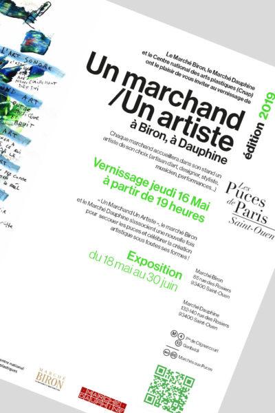 Mon exposition à l'événement Un marchand/Un artiste