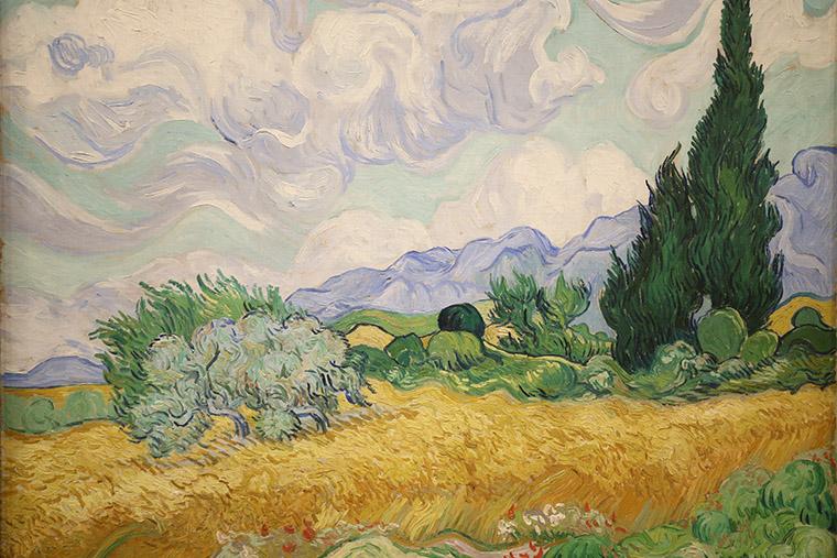 Champ de blé de Vincent Van Gogh