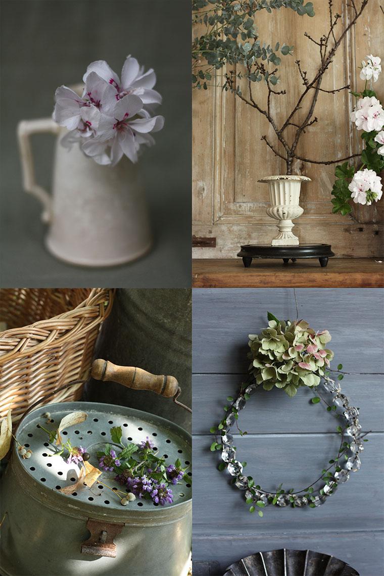 Décorations avec des fleurs